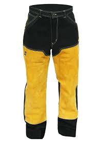 Pantalon De Cuero Para Soldadura Esab Proban L 37 International Welding Group S R L
